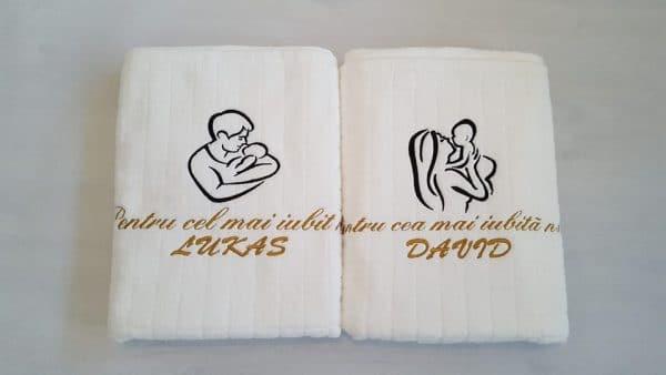 Prosoape personalizate botez